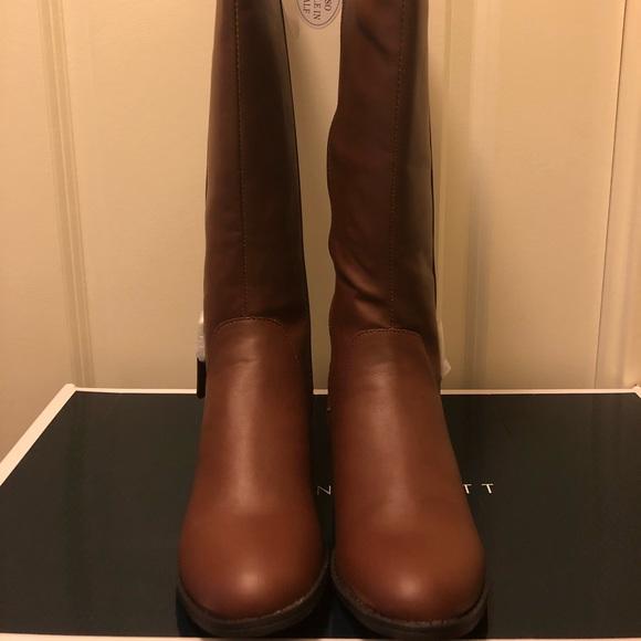225baf1e053 Karen Scott Cognac Wide Calf Boots